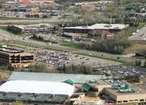 Aerial Image of the Eden Prairie Chamber of Commerce Office